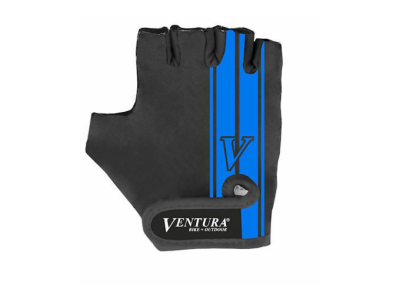 Велоперчатки Ventura, черный / синий
